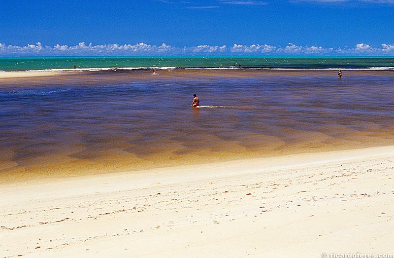 Foz do rio Caraíva