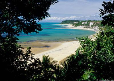 Costa do Descobrimento, sul da Bahia