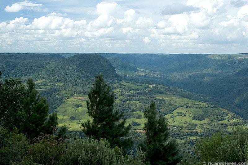 Vista do Morro Pelado