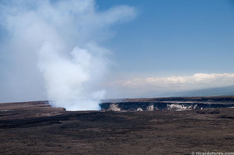 Vista no início da trilha Kilauea Iki