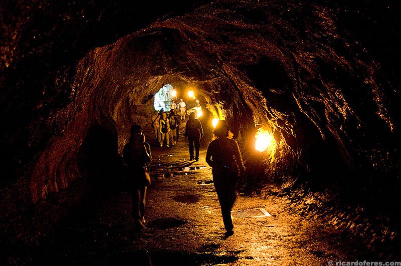 Caverna de lava Thurston
