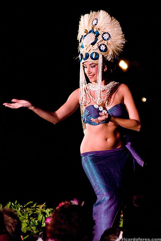 Dançando hula