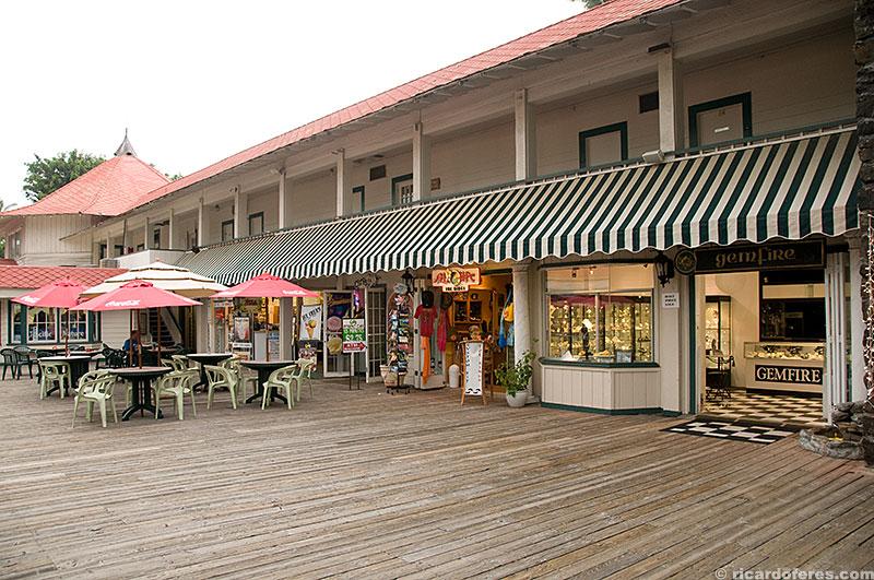 Centro turístico de Kailua-Kona