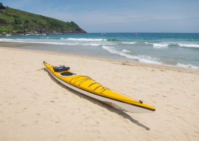 Sea kayak circumnavigation of Ilhabela, Brazil