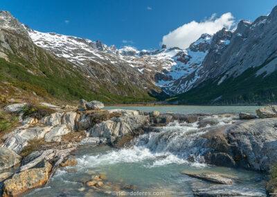 Laguna Esmeralda, Ushuaia, Argentina. Foto com 47 cm x 31 cm.