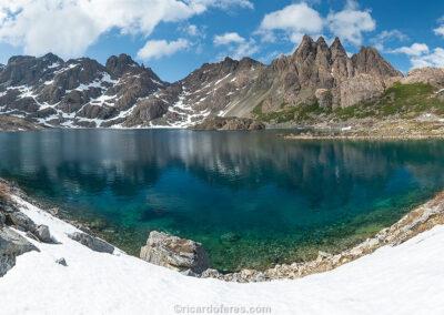 Laguna Escondida, Dientes de Navarino, Chile. Photo with 61 cm x 31 cm (24 in x 12 in).