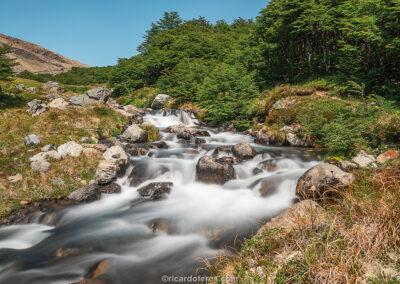 Cerro Castillo National Park, Chile. Photo with 47 cm x 31 cm (18 in x 12 in).