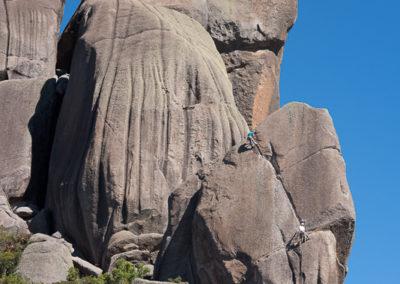 Climbers at Prateleiras