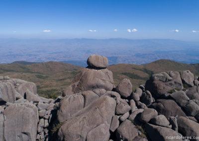 Foto aérea da Pedra Assentada
