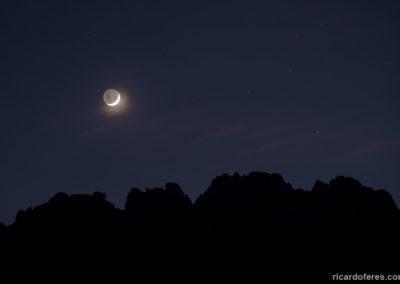Lua e Agulhas Negras