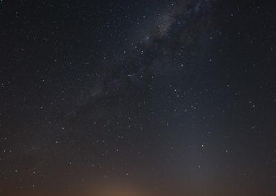 Via Láctea vista da Pedra do Altar