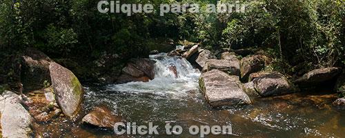 Cachoeira no Rio Novo