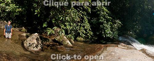 Poço Jabuti, trilha da Água Branca