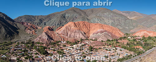 Purmamarca e Cerro de Siete Colores